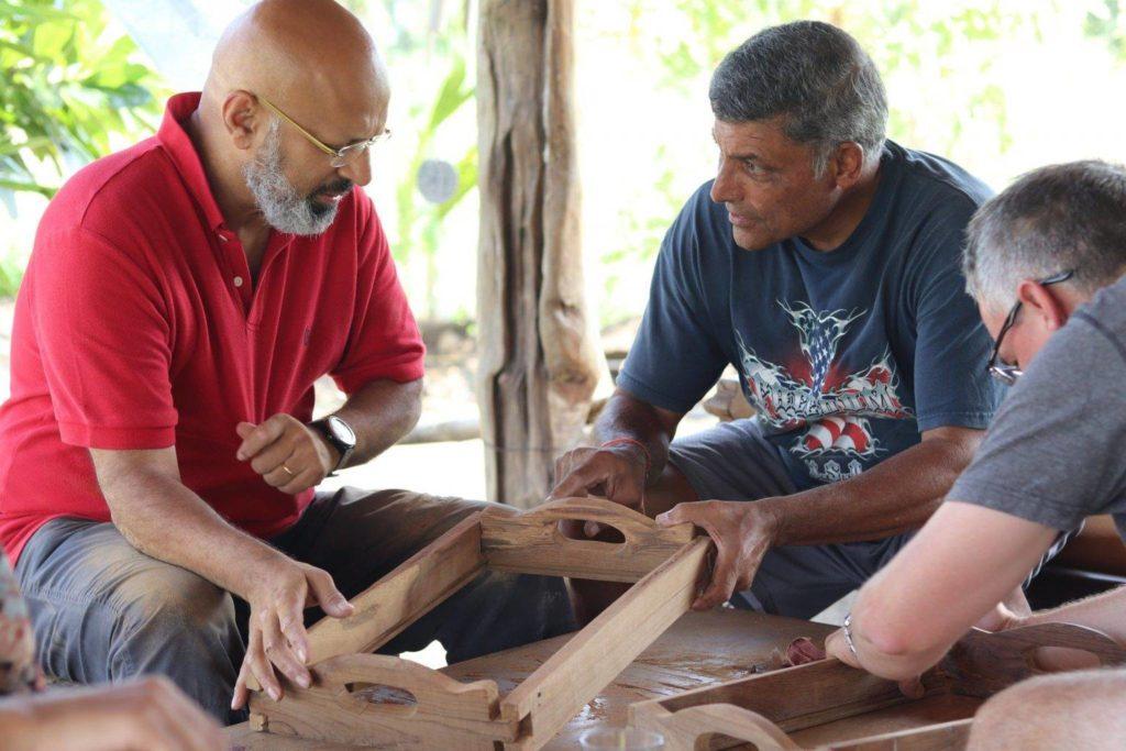 Carpentry workshop with Adwait Kher